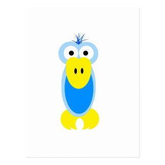 Pájaro azul tarjetas postales