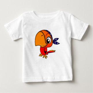 Pájaro de bebé de la atención - camiseta fina del