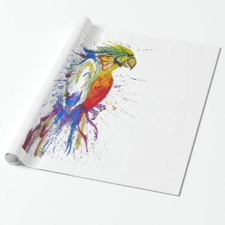 Pájaro de Budgie del loro Papel De Regalo
