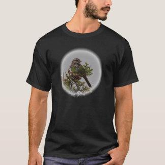 Pájaro de la canción camiseta