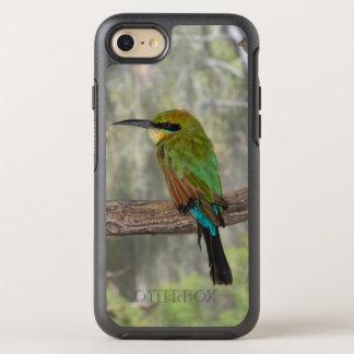Pájaro del abeja-comedor del arco iris, Australia Funda OtterBox Symmetry Para iPhone 8/7