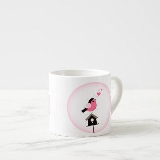 Pájaro del cuco que llama la taza de Expresso de