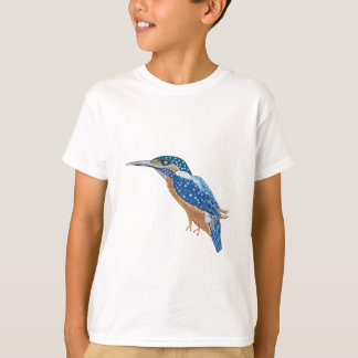 Pájaro del martín pescador camiseta