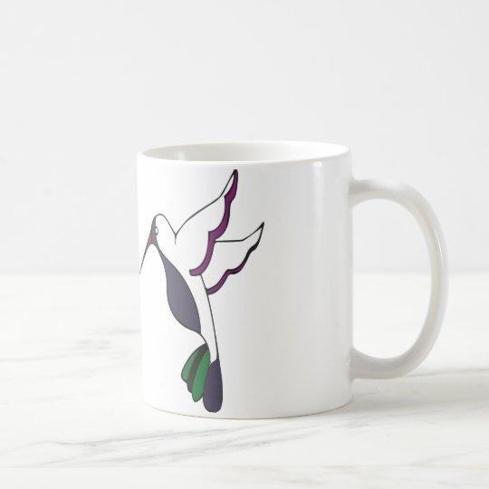 """""""pájaro del tarareo """" taza de café"""