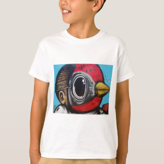 Pájaro enojado mega camiseta