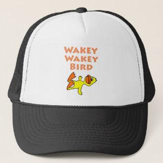 Pájaro muerto divertido de Wakey Wakey del pato Gorra De Camionero