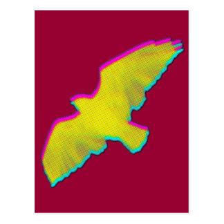 pájaro postal