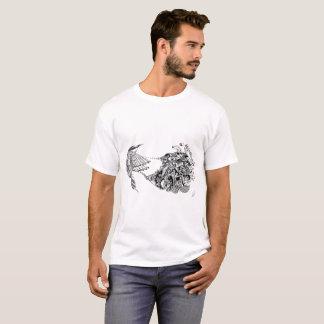 Pájaro psico camiseta