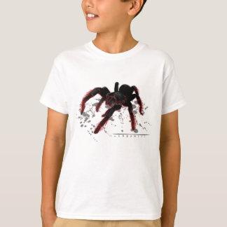 Pájaro que come la araña camiseta