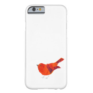 Pájaro rojo lindo funda de iPhone 6 barely there