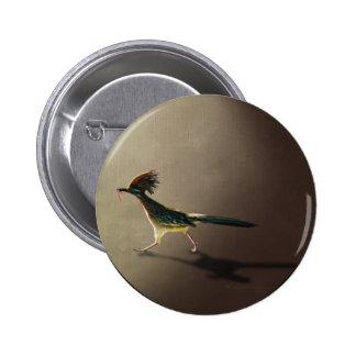 Pájaro temprano, botón pins