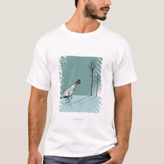Pájaro temprano camiseta