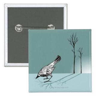 Pájaro temprano chapa cuadrada