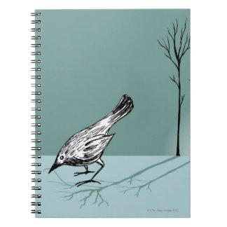 Pájaro temprano libro de apuntes