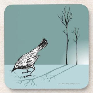 Pájaro temprano posavaso