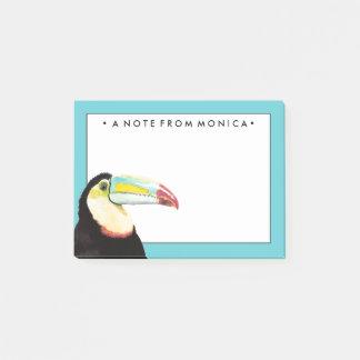 Pájaro tropical de Toucan Notas Post-it®