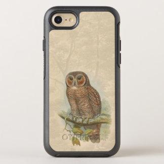 Pájaros 003 del vintage funda OtterBox symmetry para iPhone 7