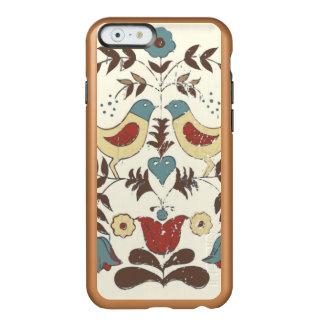 Pájaros americana Amish del país Funda Para iPhone 6 Plus Incipio Feather Shine