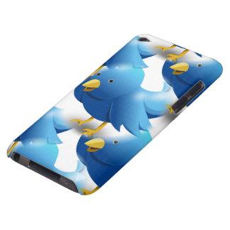 Pájaros azules lindos funda para iPod de Case-Mate