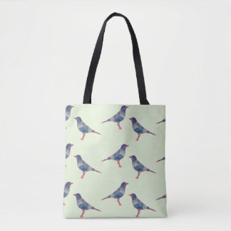 Pájaros Bolso De Tela