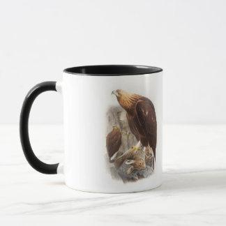 Pájaros de Eagle de oro Juan Gould de Gran Bretaña Taza