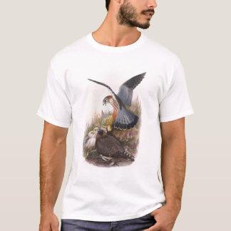 Pájaros de Juan Gould del halcón de MERLIN de Gran Camiseta