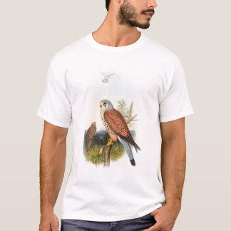 Pájaros de Juan Gould del halcón del cernícalo de Camiseta
