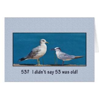 Pájaros del cumpleaños, el 53.o, del humor, de la  felicitaciones