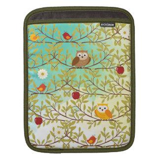Pájaros del otoño funda para iPad