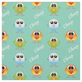 Pájaros del pío del pío para los niños telas