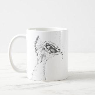 Pájaros divertidos impares de la taza el | de