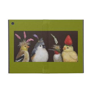 pájaros en caso del iPad de los gorras del fiesta  iPad Mini Protectores