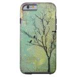 """Pájaros en los árboles """"necesidad """" funda de iPhone 6 tough"""