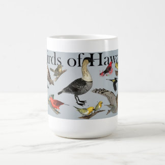 Pájaros endémicos de Hawai'i Taza De Café