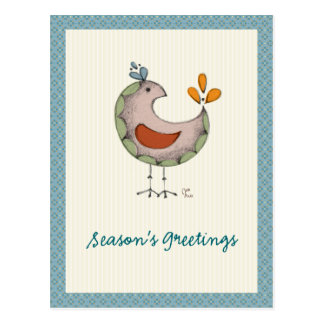 Pájaros locos postal