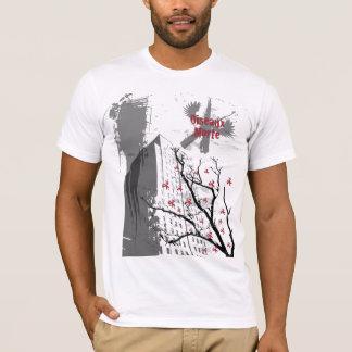 Pájaros muertos camiseta