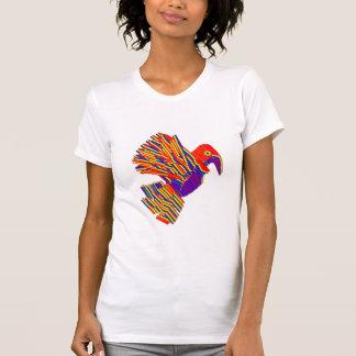 Pájaros múltiples, dibujos animados, caricatura en camisetas