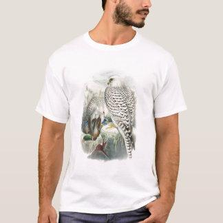 Pájaros oscuros adultos del halcón de Groenlandia Camiseta