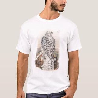 Pájaros oscuros jovenes del halcón de Groenlandia Camiseta