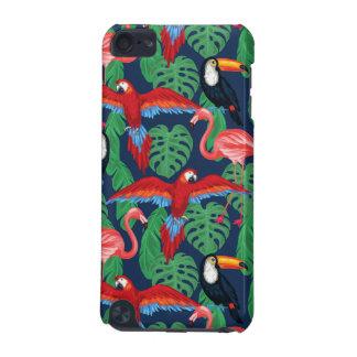 Pájaros tropicales en colores brillantes funda para iPod touch 5