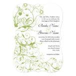 Pájaros y invitaciones del boda de los remolinos comunicados
