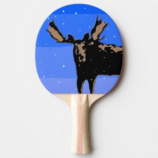 Pala De Ping Pong Alces en invierno