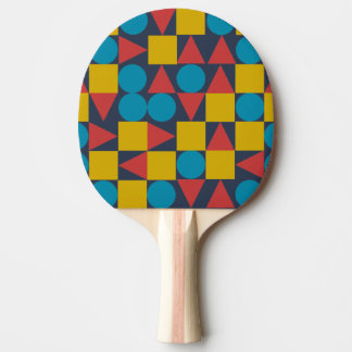 Pala De Ping Pong Amo/paleta del ping-pong, parte posterior roja del