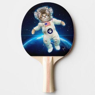 Pala De Ping Pong Astronauta del gato - gato del espacio - amante