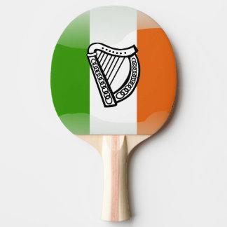 Pala De Ping Pong Bandera brillante irlandesa
