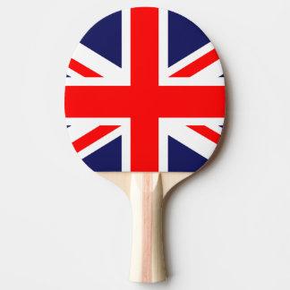 Pala De Ping Pong bandera británica