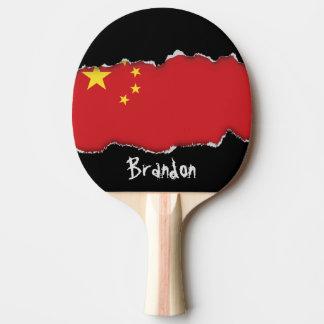 Pala De Ping Pong Bandera de China