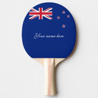 Pala De Ping Pong Bandera de Nueva Zelanda