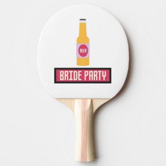 Pala De Ping Pong Botella de cerveza del fiesta de la novia Z6542