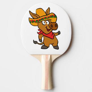 Pala De Ping Pong Burro mexicano
